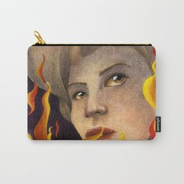 Girl on Fire Carry-All Pouch
