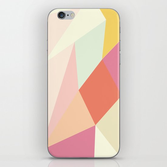 Facet I - vector iPhone & iPod Skin