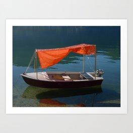 A Dream Boat Art Print