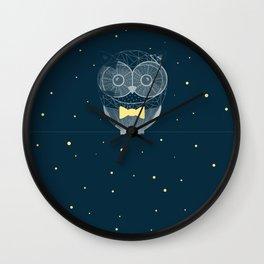 Nighty Owl  Wall Clock