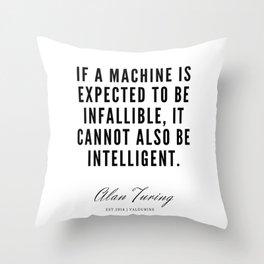 24     Alan Turing Quotes    190716   Throw Pillow