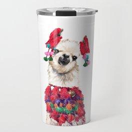 Coolest Llama Travel Mug