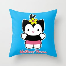 Hellooo Nurse Throw Pillow