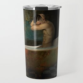 male nude Travel Mug