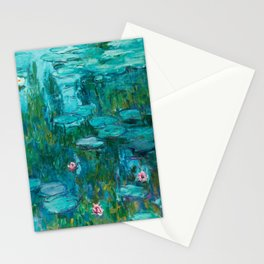 Claude Monet - Water Lilies Stationery Cards