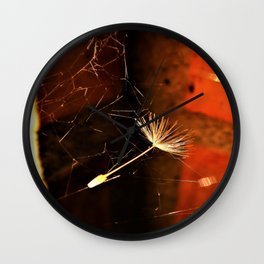 end of the flight Wall Clock