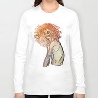 medusa Long Sleeve T-shirts featuring MEDUSA by BABA-G | arts and crafts