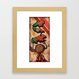 Oyster Mirror Series no.3 Framed Art Print