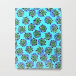 GermFlower Wallpaper (Chills) Metal Print