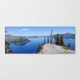 Crater Lake Oregon USA Scenic Panorama Canvas Print