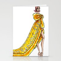 rihanna Stationery Cards featuring Rihanna by Armand Mehidri