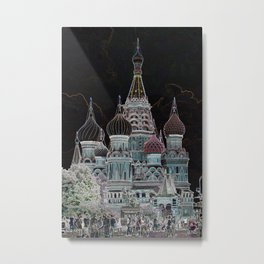 St. Basil's Cathedral v Metal Print