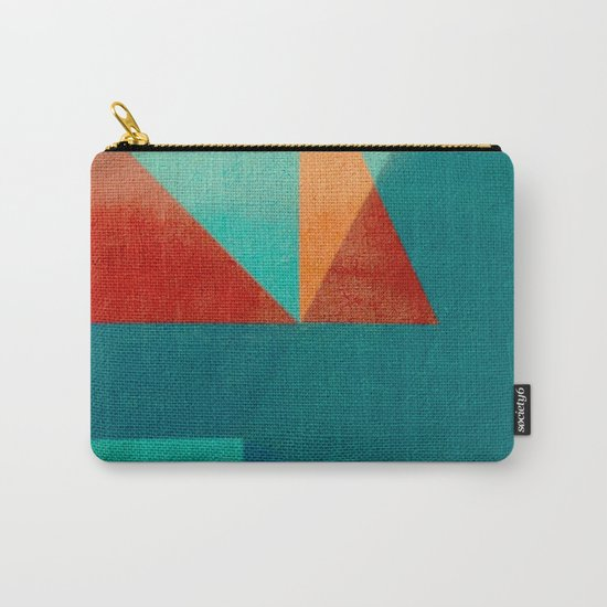 Sailing in River Mouth Carry-All Pouch