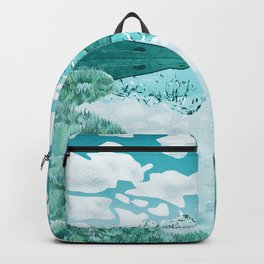 The turquoise lake Backpack