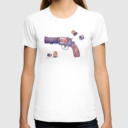 Russian Roulette Pun T-shirt