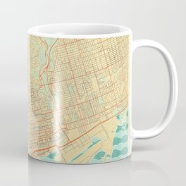 Toronto Map Retro Coffee Mug