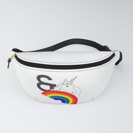 Rainbows & Unicorns Fanny Pack
