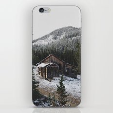 Snowy Cabin iPhone & iPod Skin