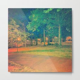 Thursday Night @ Clove Lakes Park Metal Print