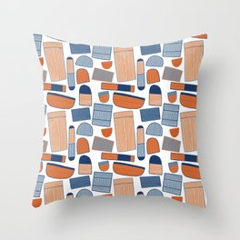 Pattern Project #39 / Stripy Things Throw Pillow