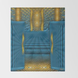The Temple in my heart   Throw Blanket