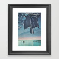Inverse Framed Art Print