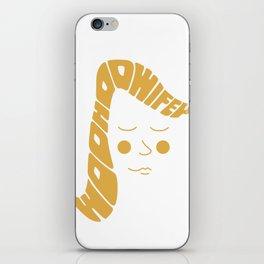 Woohoo Wifey iPhone Skin