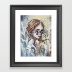 Hazel Framed Art Print