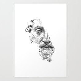 Greatest Philosophers Photo picture Print On Framed Canvas Wall art Decoration