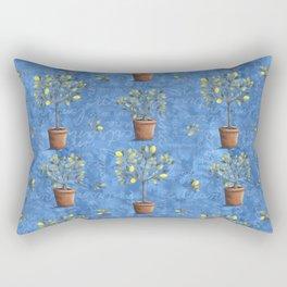 Lemon Pots Rectangular Pillow