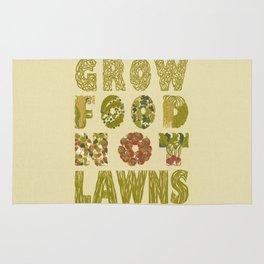 Grow Food Not Lawns Rug
