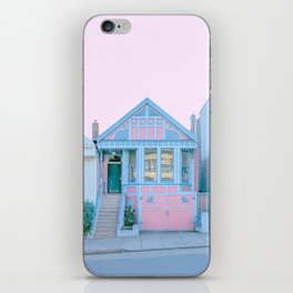 San Francisco Painted Lady House iPhone Skin