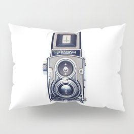 Vintage Camera Twin Lens Flexaret Pillow Sham