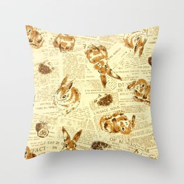 Baby Animals   #Society6  #decor   #buyart Throw Pillow