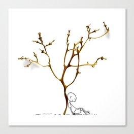 Grape tree Canvas Print