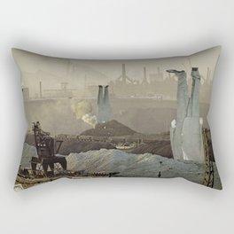the truth is dead · just make money Rectangular Pillow