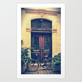 Old Town, Chania Art Print