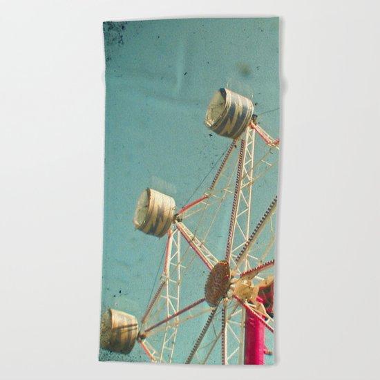Ferris Wheel Beach Towel