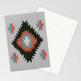 Southwestern Santa Fe Tribal Indian Pattern Stationery Cards