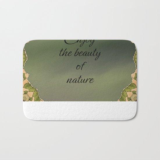 The Beauty Of Nature Bath Mat