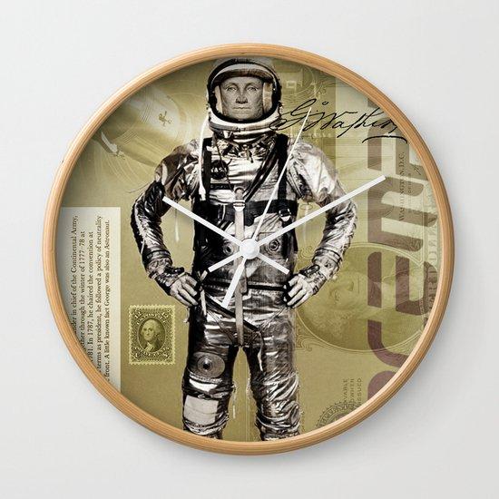 George Washington - Spaceman  Wall Clock