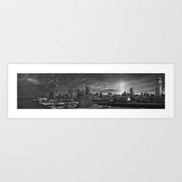 Toronto Skyline 1 Art Print