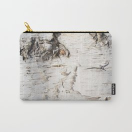 Birch bark pattern Carry-All Pouch