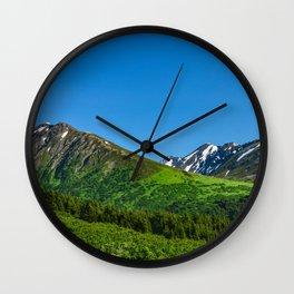 Alaskan Summer Greens - 1 Wall Clock