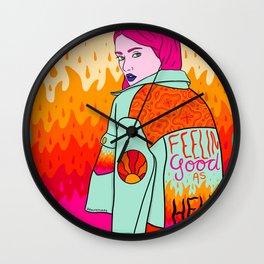 Good as Hell Wall Clock
