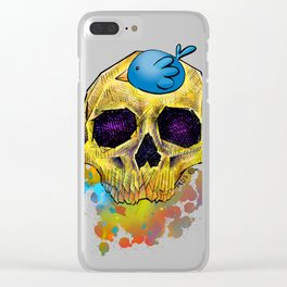 Happy Life, Happy Strife by G Squared Clear iPhone Case