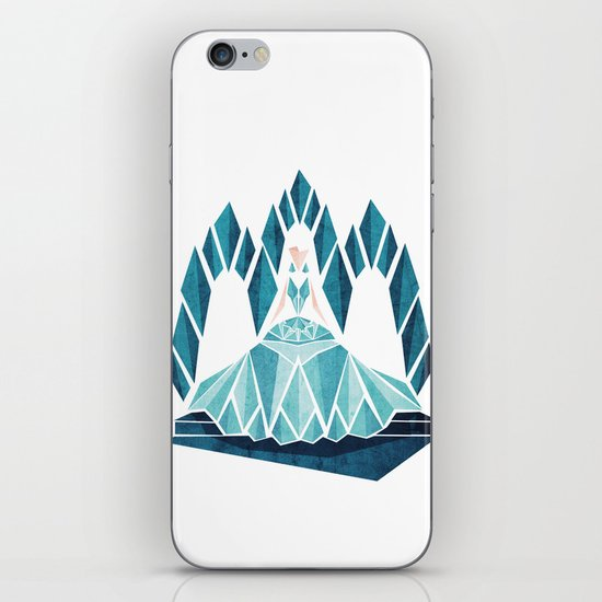 Waiting ( The Snow Queen ) iPhone & iPod Skin
