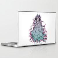 yeti Laptop & iPad Skins featuring Yeti by Lena Lilen
