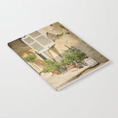 Corfu Street Scooter Notebook