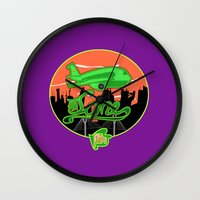 planes Wall Clocks featuring Planes & Jane's by Chefleclef
